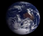 Země na snímku ze sondy Galileo. Credit: NASA
