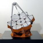 Model dalekohledu GMT, zdroj: mcdonaldobservatory.org