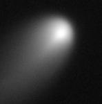 Kometa ISON na snímku z Hubblova dalekohledu. Credit: NASA