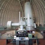 1,93 m velký dalekohledu na observatoři Haute-Provence, na kterém je instalován spektrograf SOPHIE. Credit: Ministère de la Culture