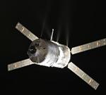 Kosmická loď ATV-4, credit: ESA, NASA