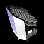 Možný vzhled družice PLATO, credit: ESA