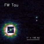 FW Tau b, credit: Kraus et al.