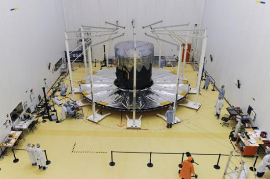 Družice Gaia se chystá na start. Credit: ESA
