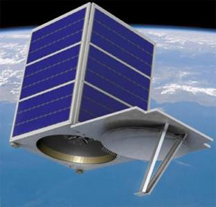 Družice SkySat 1, credit: Skybox