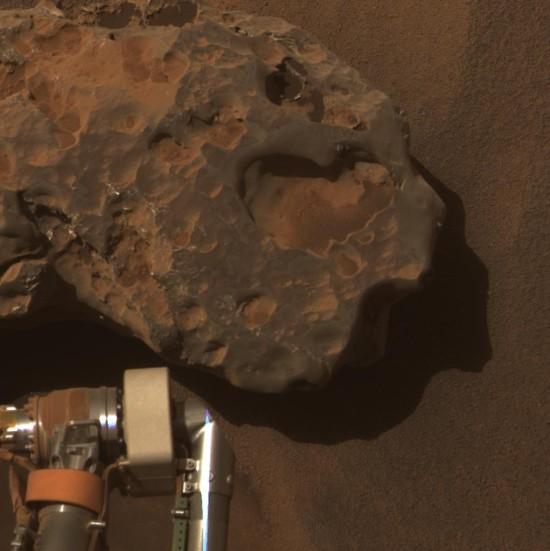 Opportunity našel na Marsu několik meteoritů
