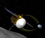 Sonda OSIRIS-REx (kresba). Credit: NASA