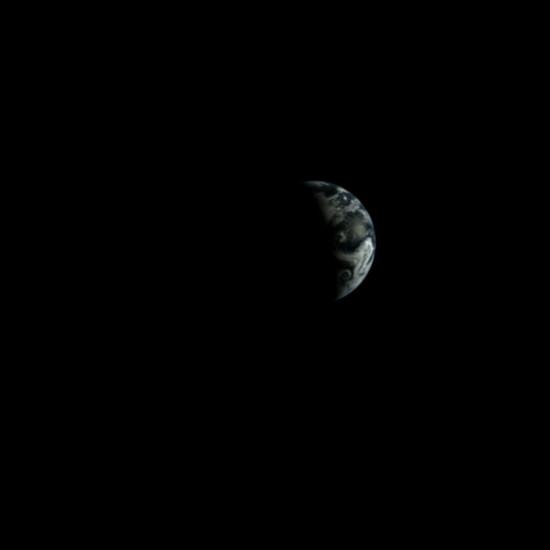 Na Vánoce roku 2013 pořídila tento snímek Země čínská sonda Chang'e 3.
