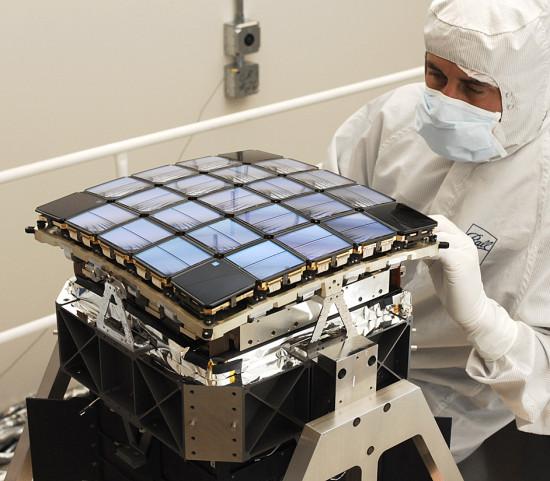 Moduly dalekohledu Kepler