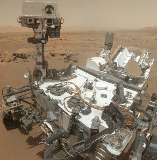 Curiosity v solu 84
