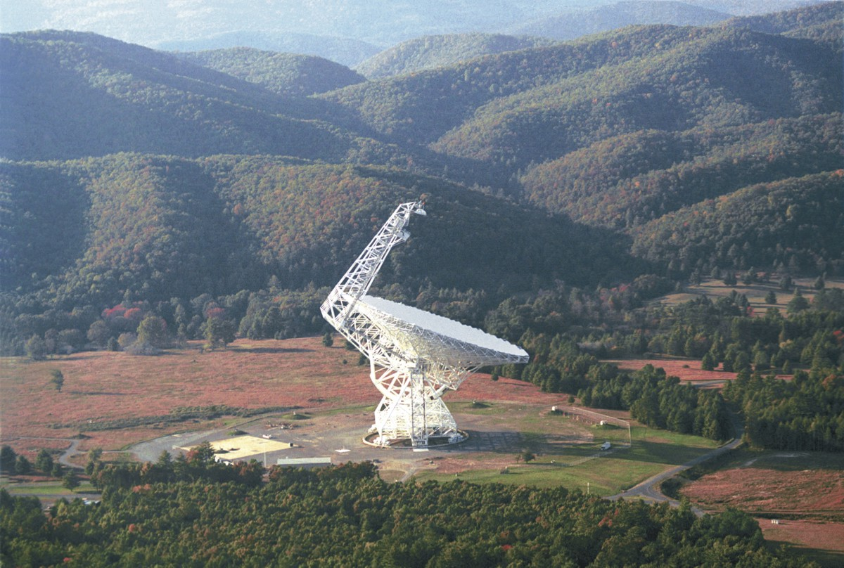 Green Bank Telescope, zdroj: Wikipedia