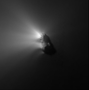 Halleyova kometa - několik sond v roce 1986 a to zejména Giotto a sovětské Vegy.