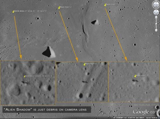 Opakující se vada na snímcích z Apolla 15. Zdroj: NASA, úprava: @Trailblazer
