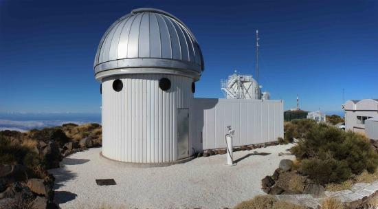 Hertzsprung SONG telescope  na Kanárských ostrovech