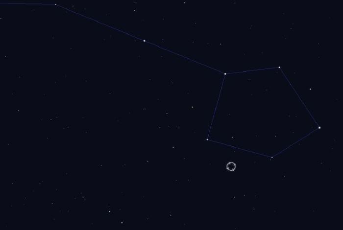 HIP 116454 se nachází v souhvězdí Ryb ve vzdálenosti necelých 200 světelných let. Zdroj: Stellarium