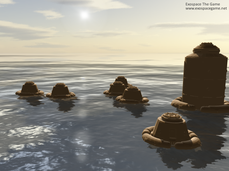 Kolonie na vodní planetě