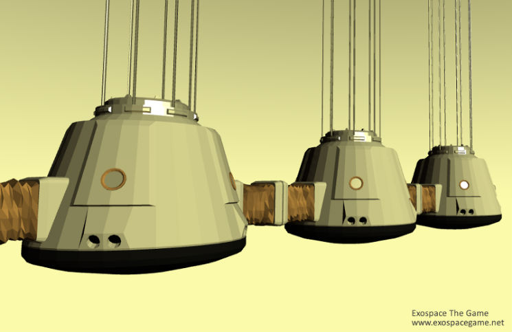 Detaily Kolonizačních modulů ...