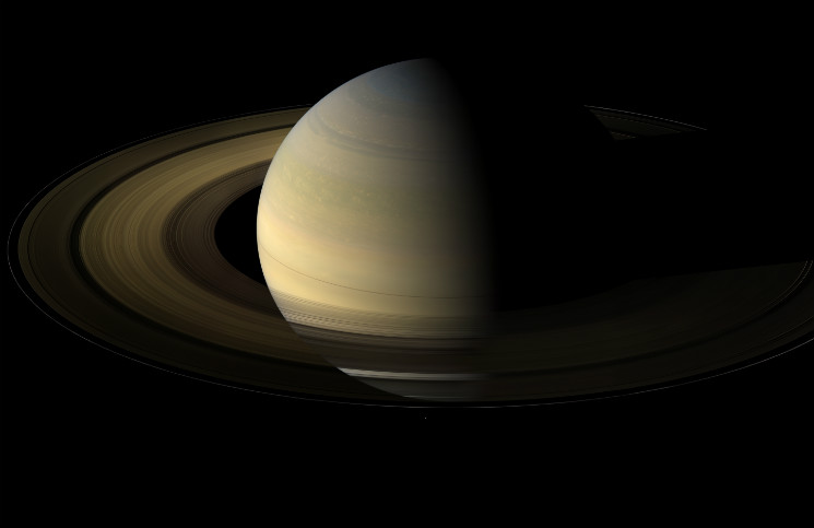 Saturn, credit: NASA