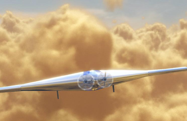 Možná podoba VAMP pro výzkum atmosféry Venuše. Zdroj: Northrop Grumman