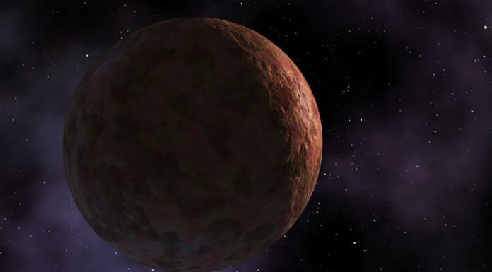 Sedna v představách malíře. Credit: NASA/JPL-Caltech/R. Hurt (SSC-Caltech)
