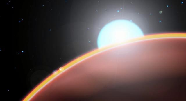 WASP-33 b credit: NASA Goddard.