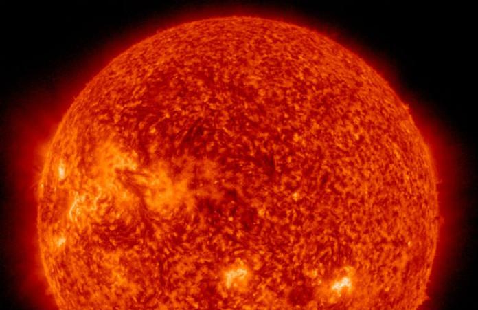 Slunce dnes na snímku ze SOHO, credit: NASA, ESA