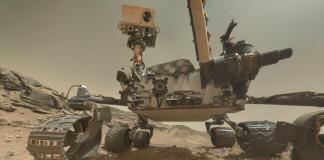 Selfie Curiosity, credit: NASA / JPL-Caltech / MSSS / Damia Bouic