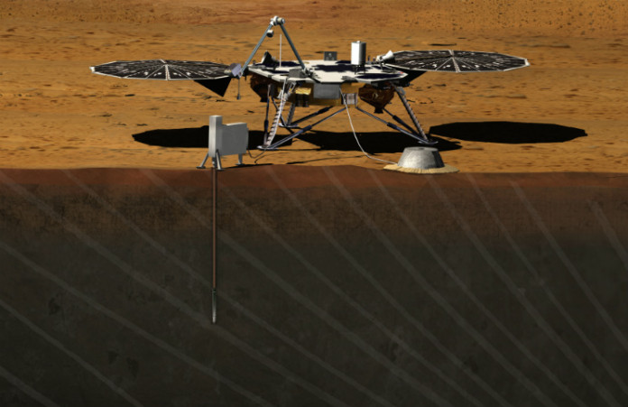 Sonda InSight, foto: NASA