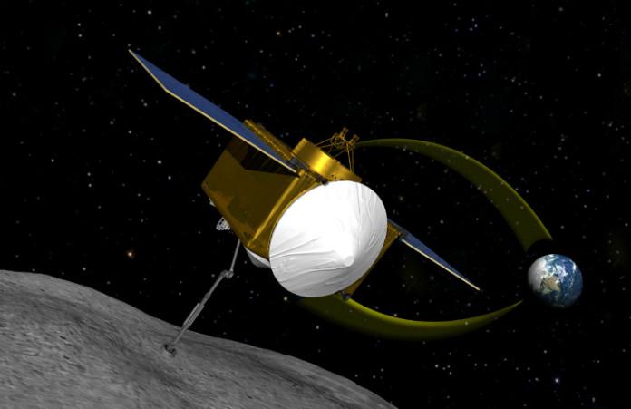 OSIRIS-REx, credit: NASA