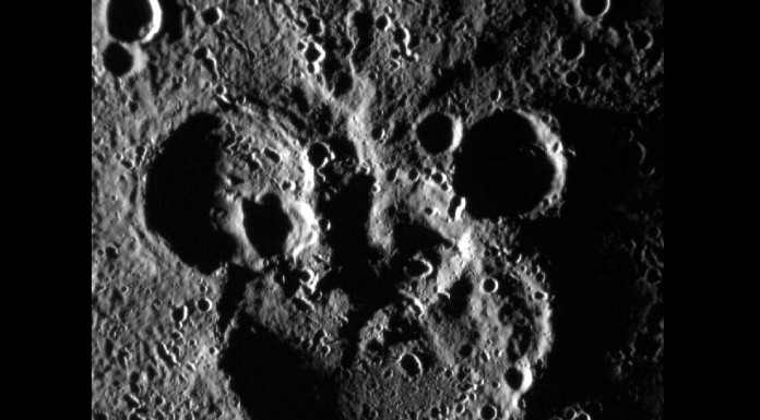 Mickey Mouse nebo Macko Uško na Merkuru... Credit: NASA