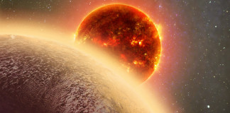 Exoplaneta, credit: Harvard-Smithsonian Center for Astrophysics