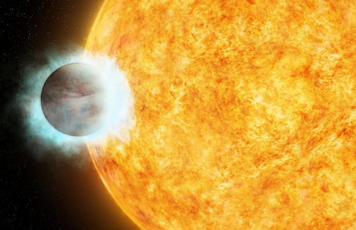 Horký jupiter, credit: NASA
