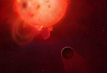 Kepler-438b, Credit: Mark A Garlick / University of Warwick