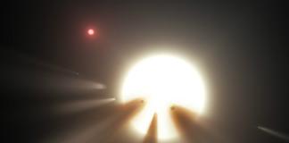 Obíhá kolem KIC 8462852 roj komet? credit: NASA/JPL-Caltech