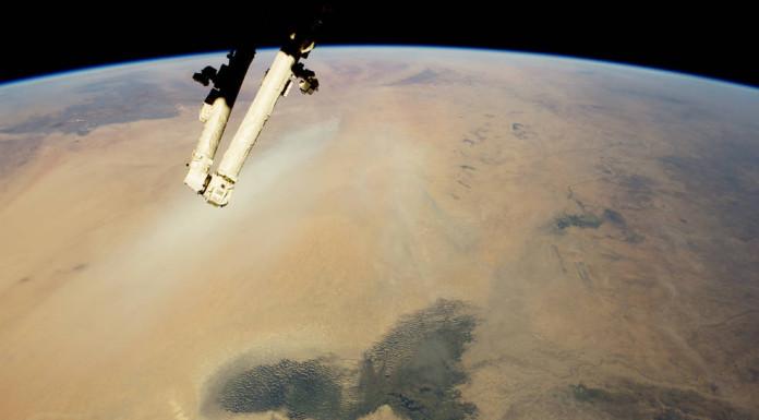 Čadské jezero a Sahara