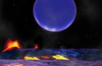 Kepler-36 v představách malíře. Credit: NASA/HARVARD-SMITHSONIAN CENTER FOR ASTROPHYSICS/DAVID AGUILA