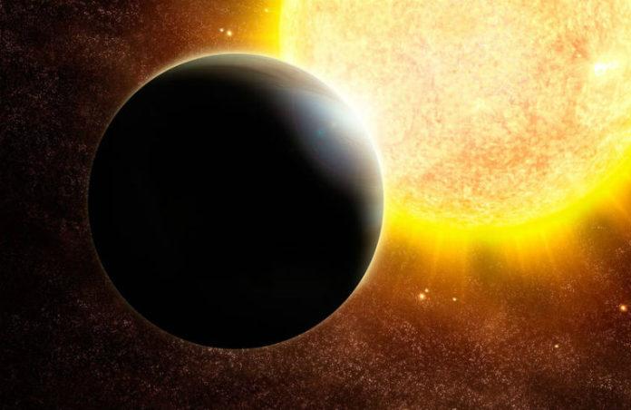 Exoplaneta v představách malíře, credit: NASA