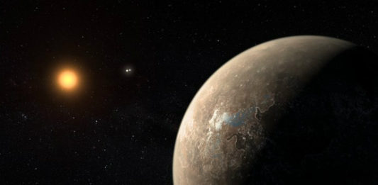 Proxima b. Credit: ESO/M. Kornmesser