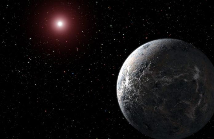 Exoplaneta v představách malíře. Credit: NASA