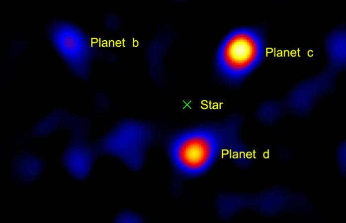HR 8799, credit: NASA
