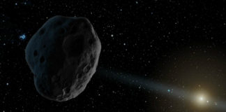 Asteroid, credit: NASA