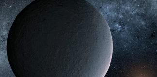 OGLE-2016-BLG-1195Lb v představách malíře. Credit: NASA/JPL-Caltech