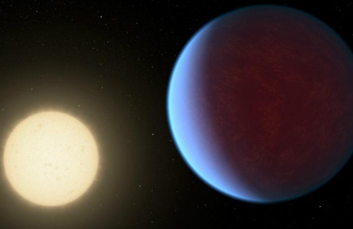 55 Cnc e (kresba), credit: NASA/JPL-Caltech
