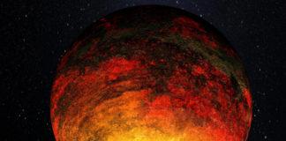 Pekelný svět v představách malíře. Credit: NASA/Kepler Mission/Dana Berry
