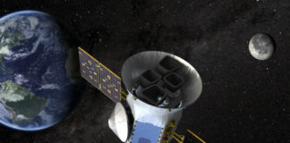 TESS, credit: NASA's Goddard Space Flight Center