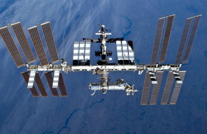 ISS, credit: NASA