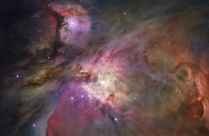 Mlhovina v Orionu. Foto: NA, Public domain