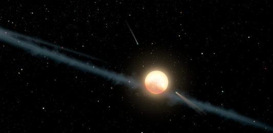 Tabbyina hvězda (kresba). Credit: NASA/JPL-Caltech