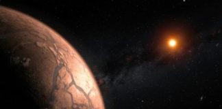 TRAPPIST-1, Kredit: ESO/M. Kornmesser