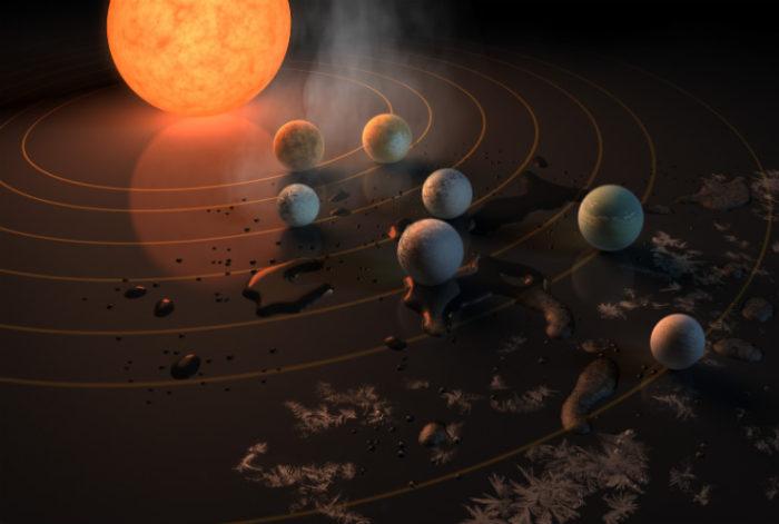 TRAPPIST-1, credit: NASA, JPL/Caltech
